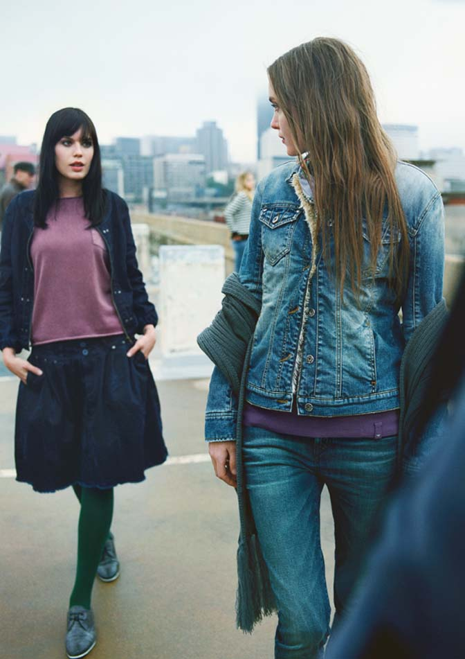 Frauen Mode Herbst