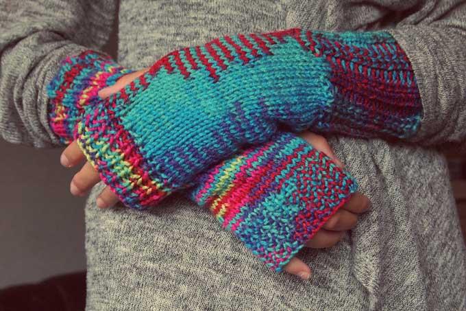 Handschuhe Stricken Winter-Accessoires