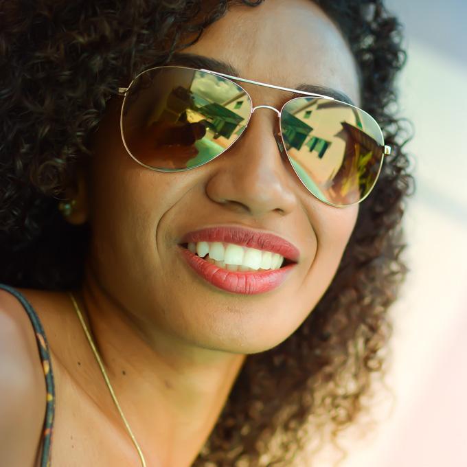 Verspiegelte Sonnenbrille Sunglasses