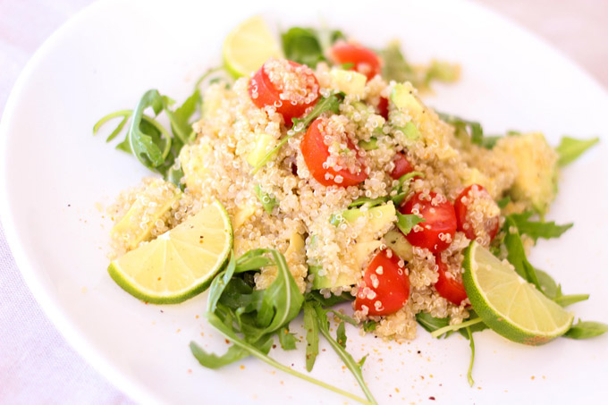 Quinoa Gerichte Superfood