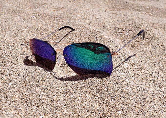Sonnenbrille verspiegelt butn