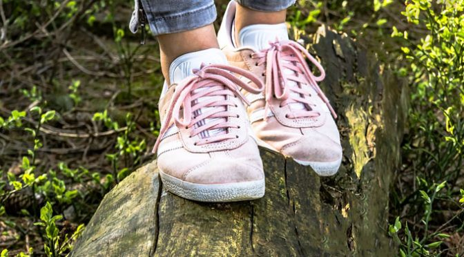 Turnschuhe Rosa Sneaker