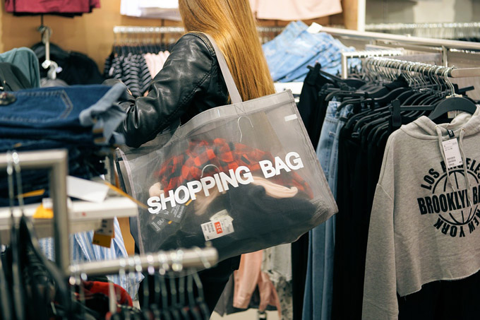 Shopping Bag Kleidung