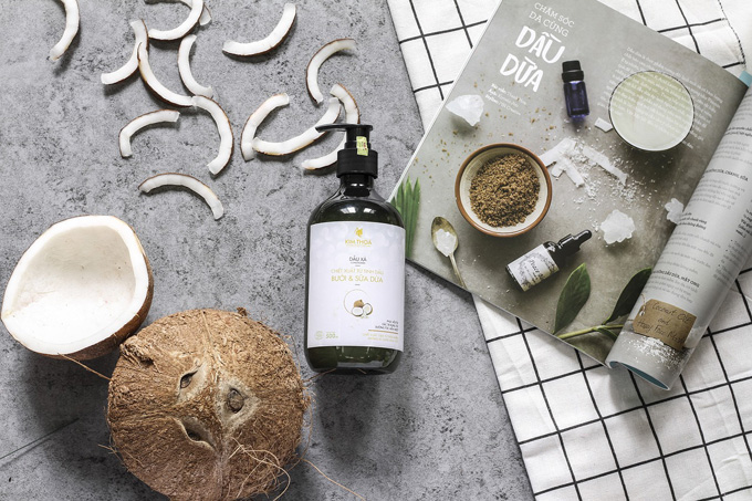 kokosnuss kokos shampoo heft