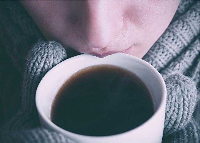 Kaffee Handschuhe Winter