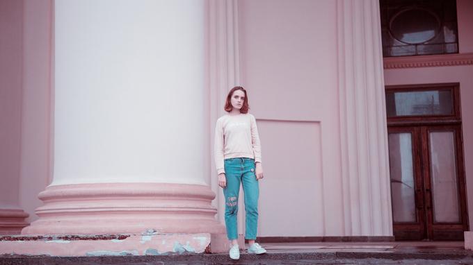 Kampagne Fashion Jeanshose