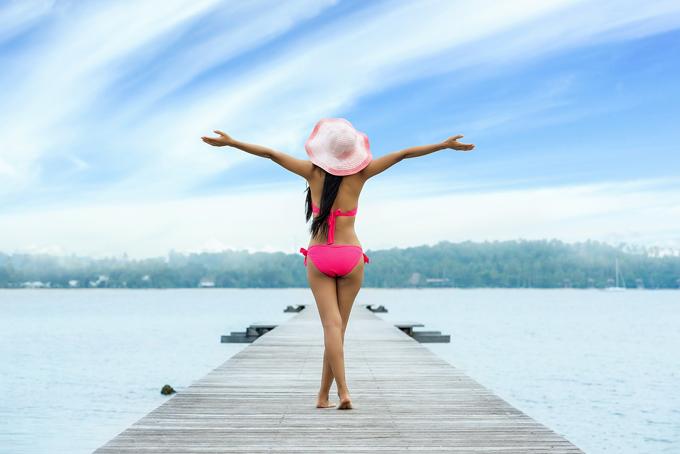Steg Bikini Sonnenhut